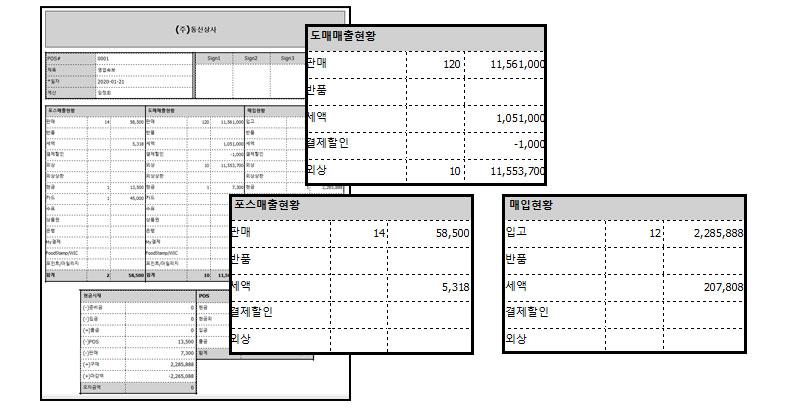 PDA택배_판매관리_자바포스PDA_판매데이터PDA_마감보고서1006